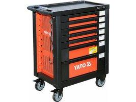 Skříňka dílenská pojízdná s nářadím (211ks) 7 zásuvek Yato YT-55290 8b3660cfa3